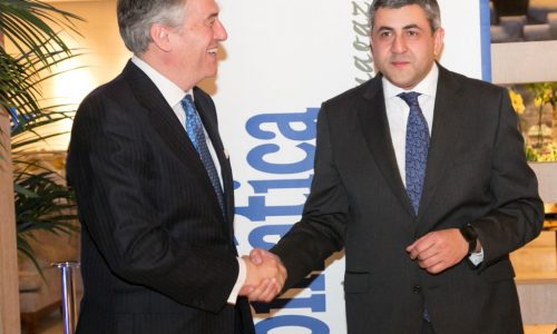 Bernardo Carballido&Zurab Pololikashvili 1