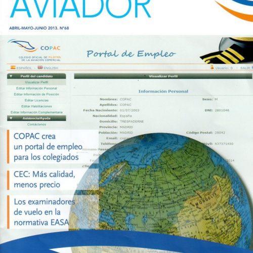 CFB - 2013 - 6-Aviador_portada