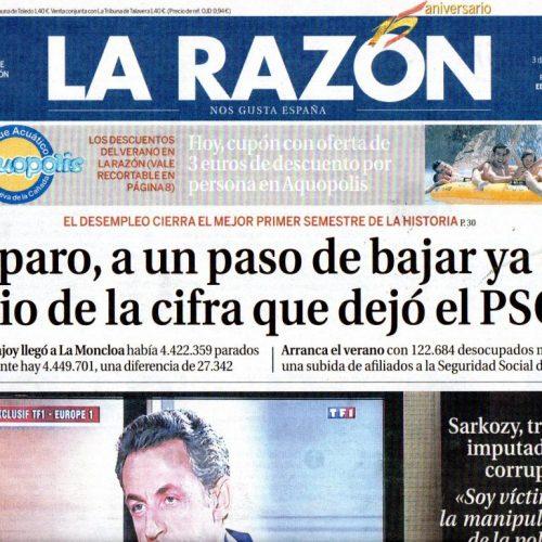 CFB - 2014 - 7-LaRazon_030714_portada