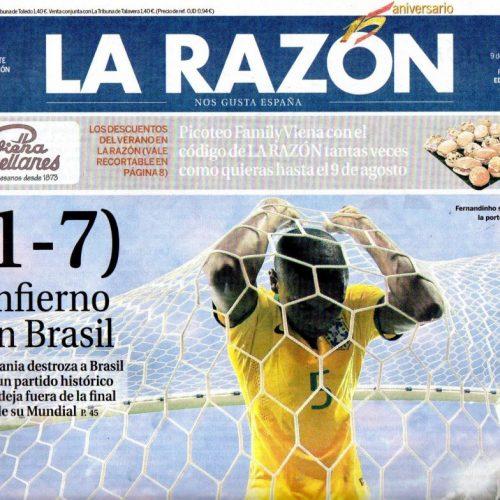 CFB - 2014 - 7-LaRazon_090714_portada