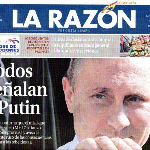 CFB - 2014 - 7-LaRazon_190714_portada