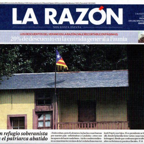 CFB - 2014 - 8-LaRazon_030814_portada