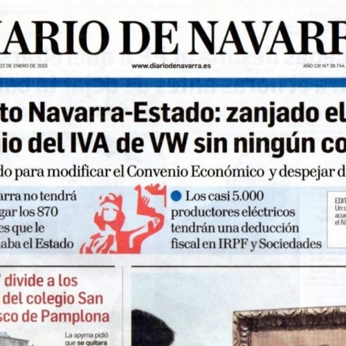 CT - 2015 - 1-DiarioDeNavarra_220115_portada