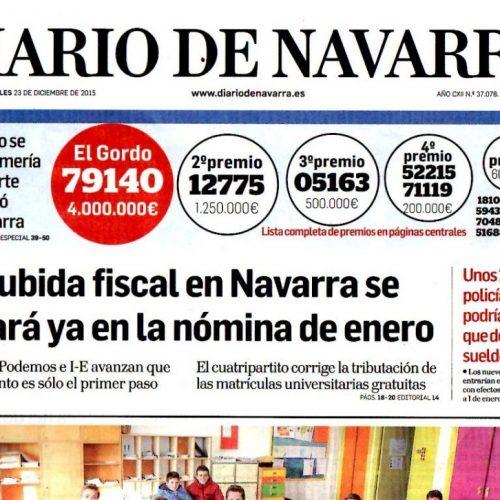CT - 2015 - 12-DiarioNavarra231215_portada