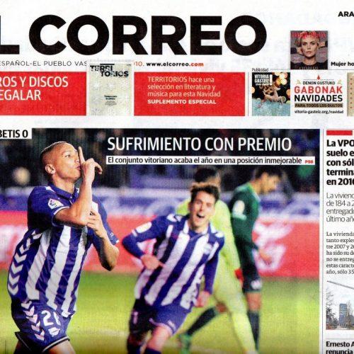 CT - 2016 - 12-El Correo_portada