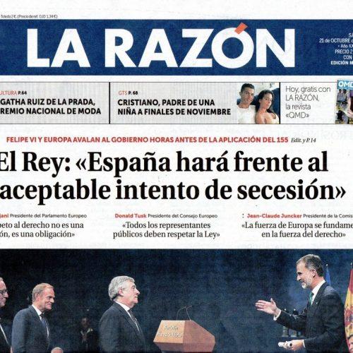 CT - 2017 - 10-LaRazón_2110_portada