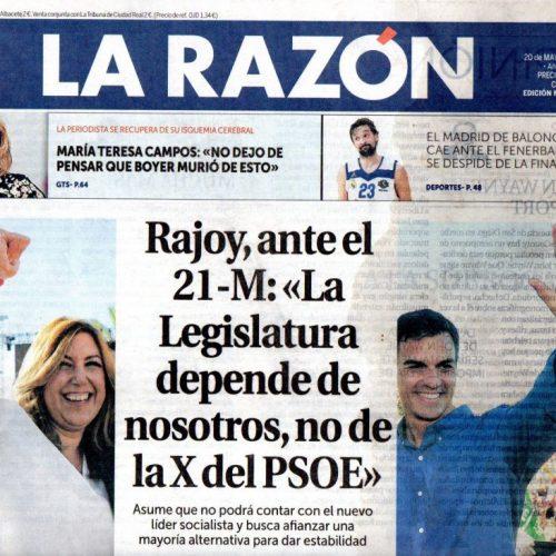 CT - 2017 - 5-LaRazon_200517_portada